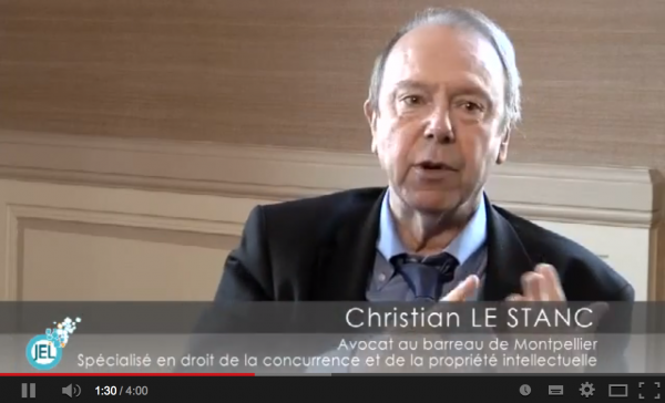Interview christian le stanc hadopi contrefa on - Cabinet avocat propriete intellectuelle paris ...