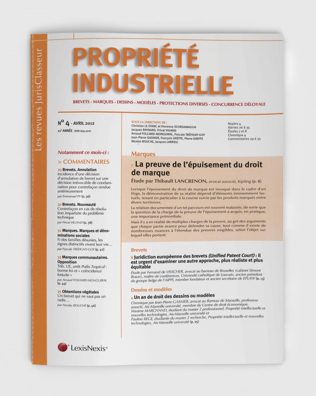 Conseil propriété intellectuelle belgique